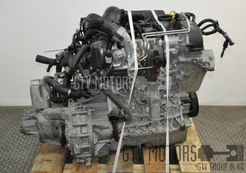 VW GOLF VII 1.2TSI 77kW 2015 COMPLETE ENGINE WITH GEARBOX CJZA