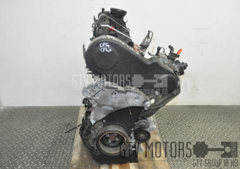 VW GOLF VI 2.0TDI 125kW 2012 ENGINE CFGB